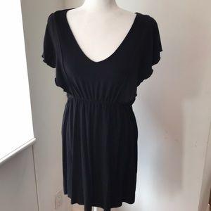 VFISH ruffle front dress!